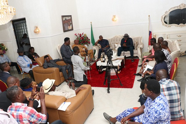 HSDickson- Condolence visit by Association of National Accountants of Nigeria.29th August 2018