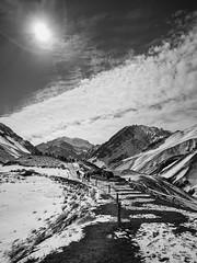Parque Provincial Aconcagua (B&N) (matiasrquiroga) Tags: mountain aconcagua montañas blanco y negro sun snow nieve beautiful day mendoza argentina frio cold travel trip