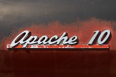 10 - Chevrolet Apache (designwallah) Tags: canada vintageautomobile beeton ontario olympusm1240mmf28 olympusomdem5markii chrome automobile car automobiledetail cardetail classicautomobile classiccar vintagecar bodypart bodydetail automobilelogo carlogo oneword typography typographie number