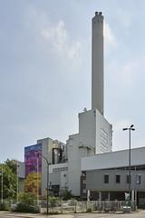 Müllheizkraftwerk Ludwigshafen (Manfred Hofmann) Tags: brd farbig kurpfalz orte projekte stadtundland flickr öffentlich ludwigshafenamrhein pfalz