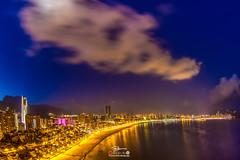 Benidorm Spain, Hiszpania, Costa Blanca (Kuba Petrymusz) Tags: alicantecostablancaspainespañahiszpania benidorm city miasto noc światła plaża morze woda wybrzeże drapaczechmur niebo costablanca impreza spokój obraz pięknie piękne petrymusz diament nocą lustro metropolia promenada góra widok widoczek hiszpania