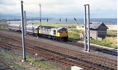 Falkland yard 26040 11aug88 a047 (Ernies Railway Archive) Tags: ayr falklandyard gswr lms scotrail