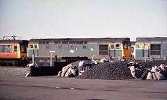 Falkland Yard 27047 12july86 a361 (Ernies Railway Archive) Tags: ayr falklandyard gswr lms scotrail