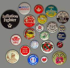 Do all the Things (Hydra5) Tags: buttons slogans protest