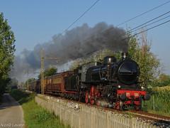 Friuli DOC a vapore (nlovato96) Tags: friuli doc 24 gr685 196 la carrozza matta fondazionefs fs avts locomotiva vapore sonderzug historical train steam locomotive treviso udine olmi