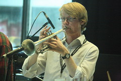 Op Sa! (2018) 04 (KM's Live Music shots) Tags: worldmusic greatbritain scotland balkanmusic brassband opsa trumpet meltdownfestival fridaytonic southbankcentre
