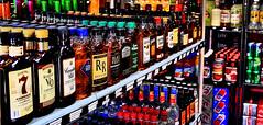 Short_Shelf (Guyser1) Tags: hdr signs liquor bottles canoneos7d westyellowstone