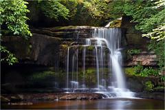 West Burton Falls (Sandra Lipproß) Tags: waterfall yorkshire westburtonfalls slowwater softwater forest river stream nature outdoor cauldronfalls