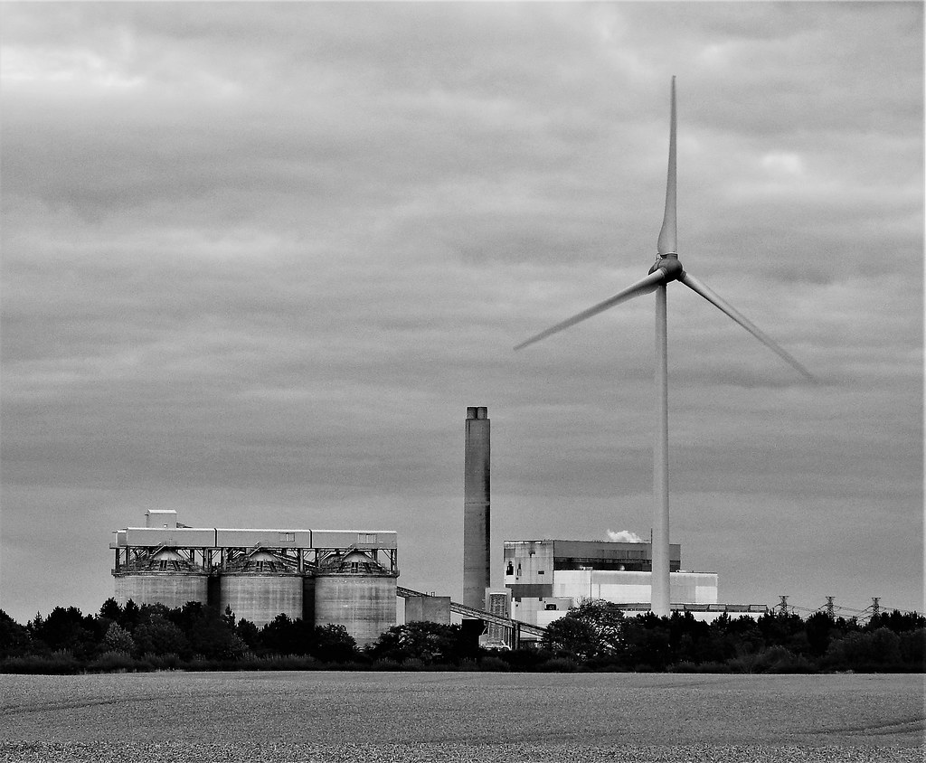 The Worlds Most Recently Posted Photos Of Lynemouth And Wind Power Biomass Station Black White Gilli8888 Tags Nikon P900 Coolpix Northumberland