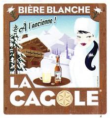 France - La Cagole (Marseille) (cigpack.at) Tags: lacagole marseille biere blance frankreich france bier beer brauerei brewery label etikett bierflasche bieretikett flaschenetikett