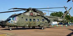Merlin HC.3A ZK001/AF 845NAS (C.Dover) Tags: royalnavy merlinhc3a agustawestland 50160 static af riat2018 raffairford unitedkingdom zk001 zk001af exm511 airshow 845nas cn50160den11
