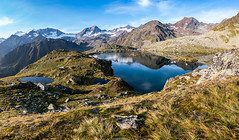 Seenlandschaft in Stubai (F!o) Tags: stubai see lake bergsee alpen alps berge tirol stubaital stubaier mountains landscape