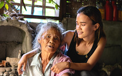 Generations (vincent.lecolley) Tags: nikon d3300 50mm 18 asia asian young old grandma granddaughter generations ageless beautiful philippines world light natural