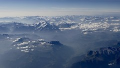 Mont Blanc French Alps France panoramic view summer 2018 (roli_b) Tags: mont blanc montblanc france french alps alpen alpi europe berge mountains snow topped montañas 2018 summer panorama panoramic view vista luftbild aerial window seat travel viajar turismo tourism reisen