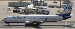 Boeing 737-86N D-ASXC (707-348C) Tags: frankfurt eddf germany boeing airliner jetliner boeing737 b738 dasxc sunexpress sxd fra sunexpressgermany 2018 passenger
