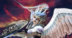 And I saw an angel come down from heavens (Laura Blues) Tags: secondlife fantasy fantasygachacarnival stargazer sinfulneeds roleplay rp angel maitreya tukinowaguma catwa