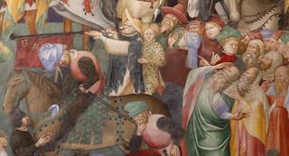fratelli Salimbeni - Lorenzo (1374 - prima del 1420) e Jacopo (1347 - dopo 1427) - Crocefissione (1416) - Oratorio di San Giovanni Battista - Urbino