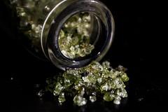 Crystal sand (j.gres) Tags: macro mondays glass bokeh sand closeup green near small detail macromondays
