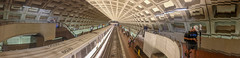 Coming and going (Tim Brown's Pictures) Tags: washingtondc panorama metro underground washington dc unitedstates