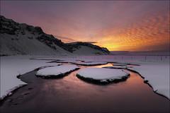 Sunrise (Jose Cantorna) Tags: amanecer sunrise hielo ice nieve snow nikon d610 iceland islandia paisaje landscape
