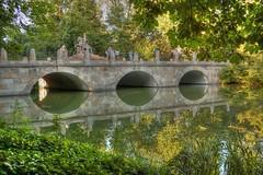 Varsovia (Enrica F) Tags: lazienky varsovia polonia nikon park bridge water