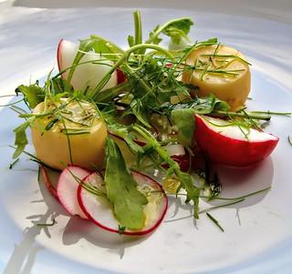 Raddish, New Potato Salad