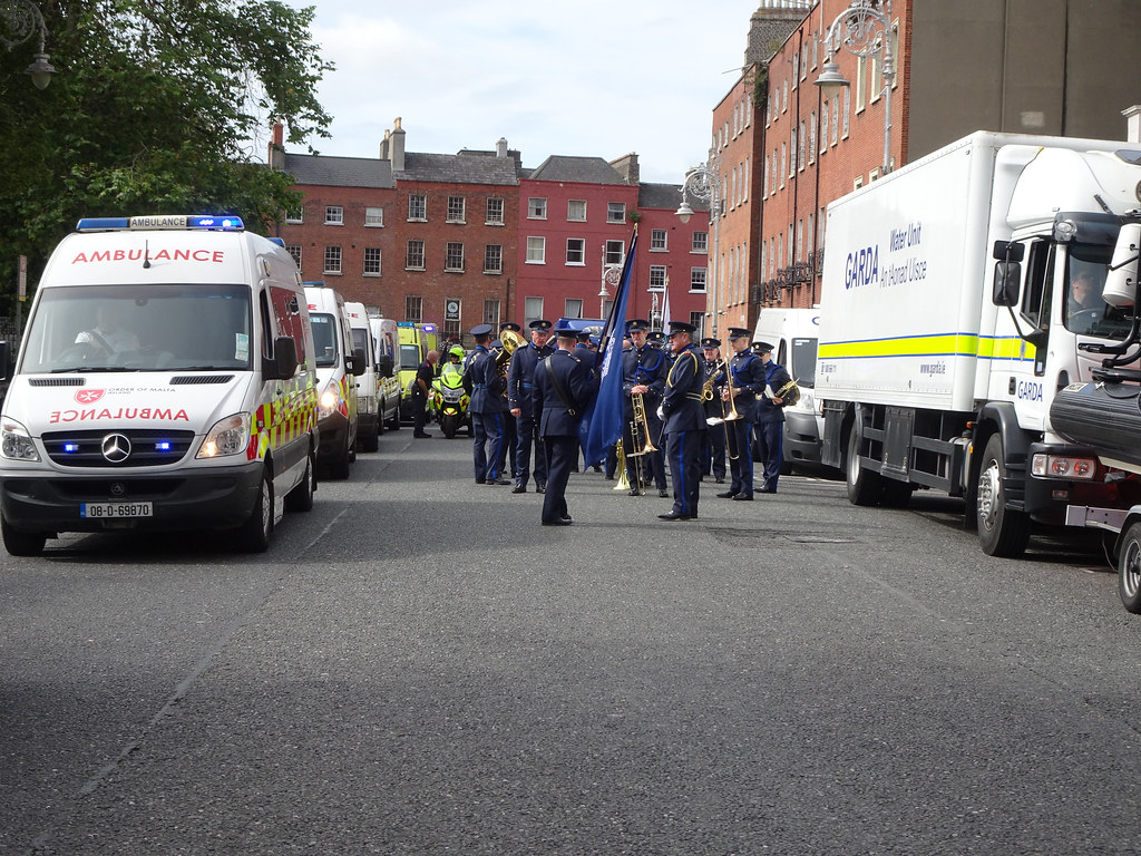 NATIONAL SERVICES DAY [PARADE STARTED OFF FROM NORTH PARNELL SQUARE]-143651