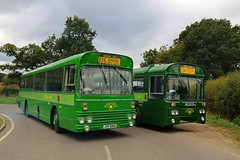 SMA8 and RP21 (keith-v) Tags: green line aec reliance swift park royal alexander sma8 jpf108k jpa121k rp21 epping ongar railway eor