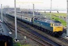Falkland 47559 Stran-Glas jun86 a074 (Ernies Railway Archive) Tags: ayr falklandyard gswr lms scotrail