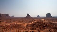 Monument Valley (M a u r i c e) Tags: monumentvalley landscape nature erosion canon efs1022mmf3545usm wideangle ultrawidezoom sunlight sunshine rock unitesstates usa
