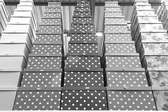 Torres frágiles (Micheo) Tags: granada spain almacenchino cajas boxes torres towers empty vacio blackandwhite blancoynegro