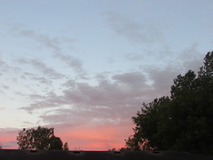 Pink sky (creed_400) Tags: belmont west michigan summer september