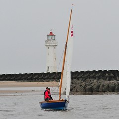 WYC C Broster Trophy 16/09/2018 (sab89) Tags: wallasey yacht club wyc c broster trophy lighthouse 16092018 river mersey wirral half rater traditional sailing sail low tide irish sea new brighton