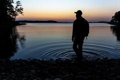 Last light of the day (VisitLakeland) Tags: finland lakeland auringonlasku backlight dark evening järvi lake luonto maisema nature outdoor scenery silhuet siluethe siluetti sunset vastavalo water