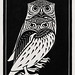 Two owls (1921) by Julie de Graag (1877-1924). Original from the Rijks Museum. Digitally enhanced by rawpixel.