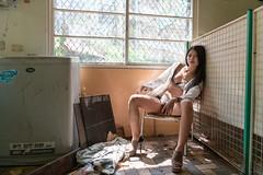 DSC_4506 (錢龍) Tags: 葉嘉 台灣 台中 宜寧中學 外拍 穿環 內衣 酷 女孩 nikon d850