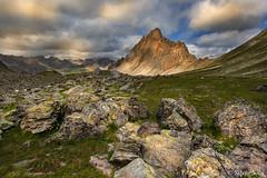 Alta valle Maira... (Silvio Sola) Tags: mountains montagne roccalameja rocca roccia roccie dolomitica vallemaira cuneo piemonte piedmont italia italy silviosola paesaggio landscape