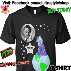 Malcolm X Moon Tshirt (El Ultra Style) Tags: malcolmx moon tide tsunami blackpower blackhistory ocean fist eclipse civilrights martinlutherking blackpanther blackexcelence malcolm blackpeople freedom islam glasses harlem revolution mlkday mlk civilrightsmovement civilrightsactivist denzelwashington nationofislam blackpanthers