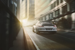 Porsche 911 GT3 RS (991.1) (JJ Micheli) Tags: 911gt3rs 991 ambiancesombre contrejour k1 paysageurbain pentaxart pentaxa quartierdaffaire smcpentaxfa2870mmf28al supercar voitureallemande ambiancecinematique ambiancecinématographique ambiancefroide batiments building coldmood darkmood diecast graphic graphique illusion jouet ladéfense lightpainting modelereduit rear34 rigshot rollingshot scalemodel vue34arrière cityscape picture realism réalisme toy ad advertisement automobile automotive backlight brumeux car city contrast contraste dark immeubles miniature publicité smog studio sunset tours