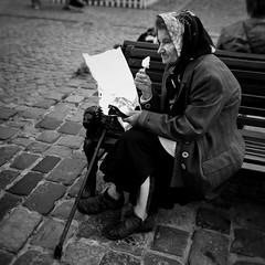 I scream! (tuba_mobilephotography) Tags: lviv june2017 blackwhite streetphotography streetportrait mobilephotography mobilestreetphotography