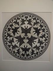 Circle limit IV (Heaven and Hell); M. C. Escher; 1960 (M_Strasser) Tags: olympus olympusomdem1 holland netherlands escher mcescher