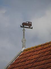 windvaan Terschelling (willemalink) Tags: windvaan terschelling
