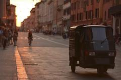 Via Rizzoli (ghismou1981bo) Tags: sunset street streetp streetphoto life city italy