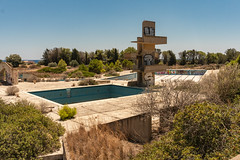 the lost swimresort 3 (M van Oosterhout) Tags: urbex abandoned decay urban exploring urbanexploring derelict deserted swimmingpool pool swimresort resort greece aqua diving tower jungle holiday vacation summer 2018