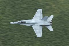 Canadian Air Force F18 Hornet, Mach Loop (Thomas Winstone) Tags: hornet f18 caf canonuk canon 300mm28mk2 canon1dxmark2 thomaswinstonephotography plane jet military lowfly lfa7 aircraft canadianairforce