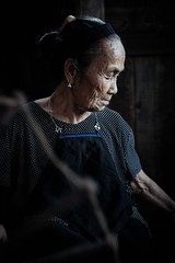 Chengyang Ayis (Crossing China) Tags: china guangxi asia auntie old oldlady street culture documentary