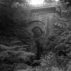 Devil's Bridge (StefanKoeder) Tags: devilsbridge wales ceredigion uk bw hasselblad tmax distagon pontarfynach brücke bridge