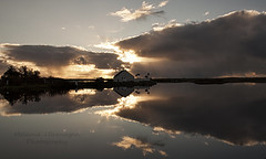 Reflected (Elidor.) Tags: outerhebrides southuist scotland islands hebrides reflection loch home elidor d90 evening sunset