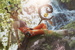 BATTLERITE: Blossom [ Shooting Cosplay Privé ] (junkeephotography) Tags: battlerite battleritecosplay moba blossom blossomcosplay modele beautiful frenchcosplay battleritegirl cosplayer cosplay cosplays cosplayers cosplaygirl portrait cascade nature shooting naturel natural girls badass france auvergne gamecosplay beauty personne girlphotography photography photoportrait eos canon sigmaart artist foret forest lightroom girlportrait naturallight light worm homemade support cosplayportrait frenchgirl french water wood waterfall paysage landscape animation cartoon