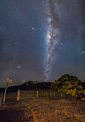 Private property. Public perspective (nightscapades) Tags: astronomy astrophotography autopanopro cemetery danjeradam farm galacticcore mars milkyway night nightscapes nowra panorama panos rural shoalhaven sky southcoastnsw stars stitch venus yalwaldam yalwal newsouthwales australia